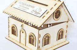 Domek PUDEŁKO skrzynka koperty życzenia ślub