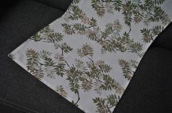 Bieżnik 43 x 100 - jesienne liście jarzębiny