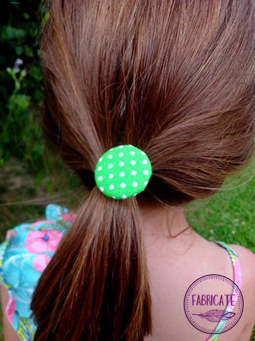 Gumki do włosów - kropki - Fabricate
