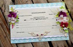 Czek na ślub