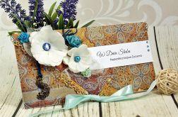 Kartka z okazji ślubu- orientalne ogrody