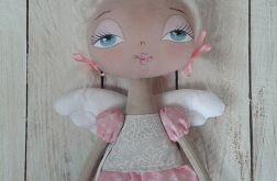 ANIOŁEK - lalka - dekoracja tekstylna - OOAK