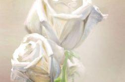 Obraz - Róże - płótno