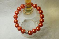 49. Bransoleta z pereł szklanych 10mm