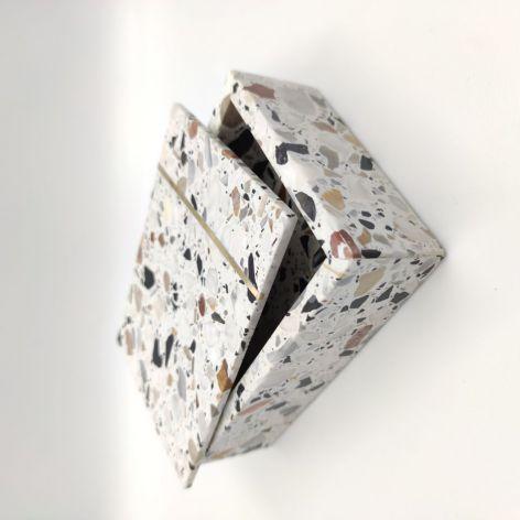 Szkatułka, pudełko, taca z kamienia Terrazzo