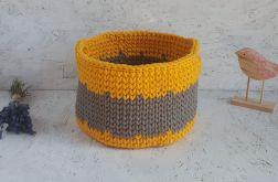Koszyk beżowo-żółty