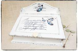 Organizer Shabby chic ~Butterflies~