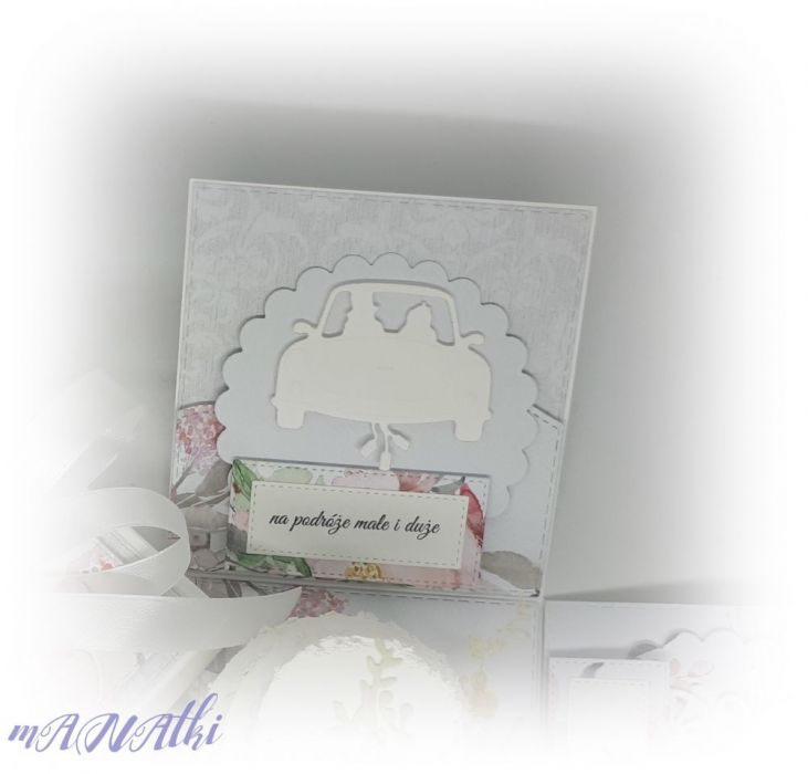 Pudełko...karnet...ślubny -