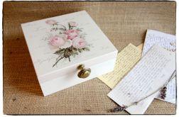 Pudełko z okazji Ślubu Młodej Parze ~~Róże~~