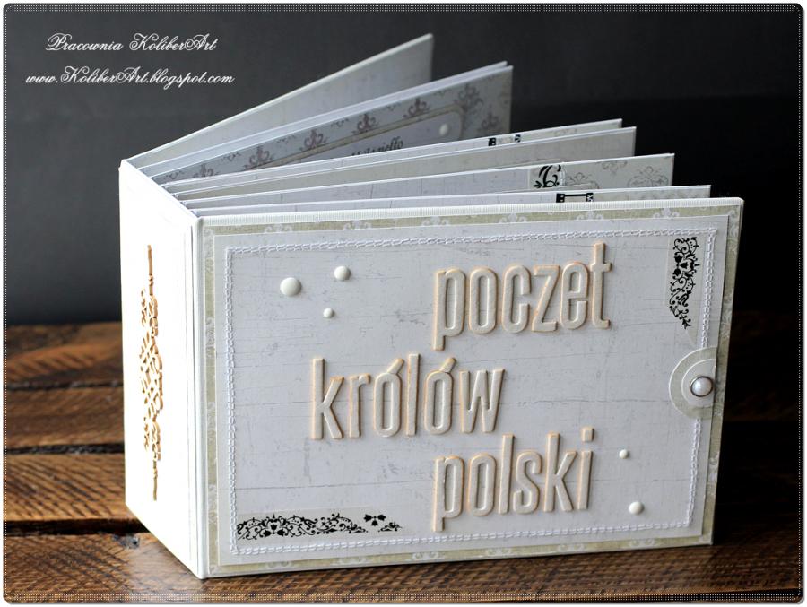 Poczet Królów Polski Album na pieniadze