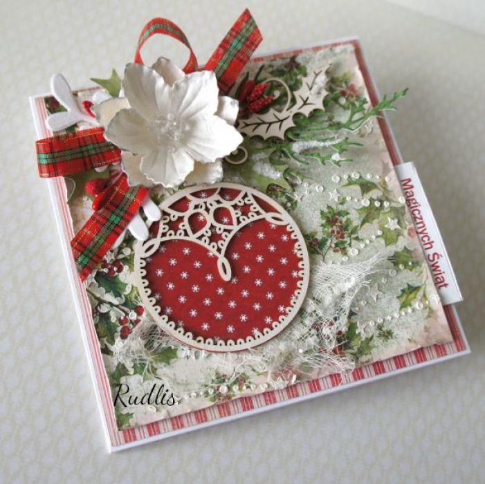 """Kartka świąteczna """"Magicznych Świąt"""" v.4 - sw22222"""