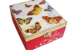 Szkatułka w motyle