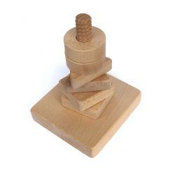 Nakręcanka drewniana, terapia ręki