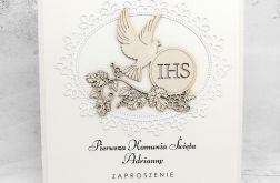 Zaproszenie na Komunię IHS Gołąb ZKS 001