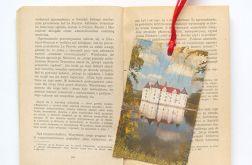 Vintage zakładka do książki - zamek 2