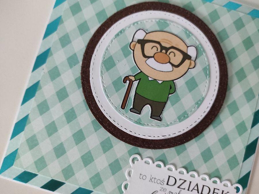Kartka na Dzień Dziadka -