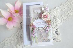 Ślubna kartka w pudełku 213