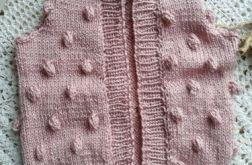 Kamizelka bąbelkowa różowa
