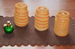 Pomarańczowe słoiczki