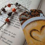 zakładka dla miłosników kawy - awers - detale