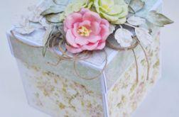 Piękny exploding box na ślub wesele