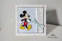Kartka na Roczek Urodziny Myszka Miki