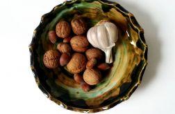 Patera ceramiczna zielona 29