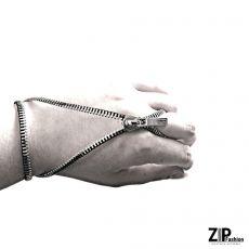 Rockowa bransoletka z pierścionkiem