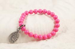 Różowa biedronka dla dziewczynki