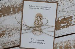Wyjątkowe zaproszenia komunijne dziewczynka1