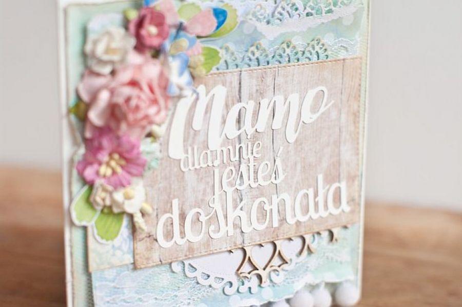 Dzień Matki - kartka okolicznościowa DM01