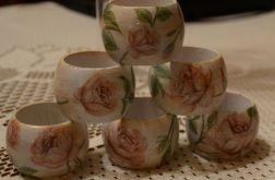 serwetniki w róże