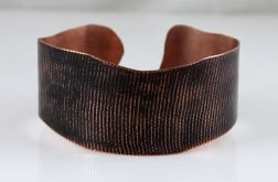 Miedziana bransoletka - płótno