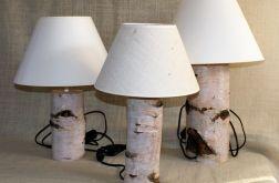 Lampka nocna z brzozy
