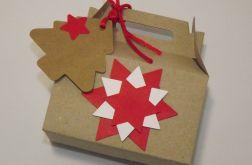 Eko-pudełko na ciasteczka - gwiazda