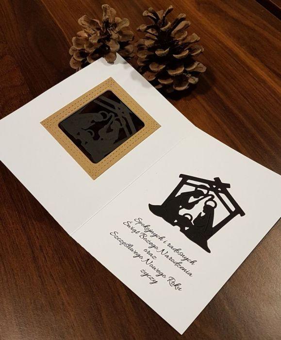 Kartka bożonarodzeniowa z życzeniami KH191022 -