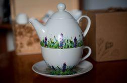Zestaw do herbaty - Tea for One Wiosenna łąka
