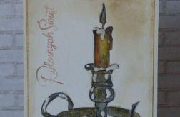 166. LAMPION świąteczny