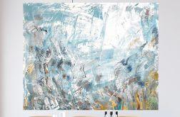 Obraz ręcznie malowany 100x80