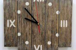 Zegar ścienny drewniany mały