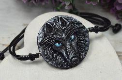 Bransoletka wilk (2)- w odcieniach srebra