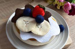 Pancake Filcowy / Jedzenie z filcu