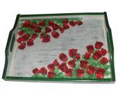 taca w róże