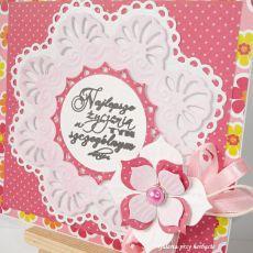 Różowa kartka uniwersalna 2