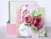 Kartka na Dzień Kobiet w pudełku