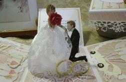 Pudełko ślubne - Młoda PAra