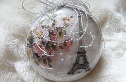 Bombka medalion Paris
