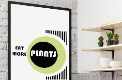Plakat Eat more plants