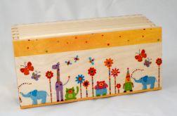 Ręcznie robione pudełko na skarby
