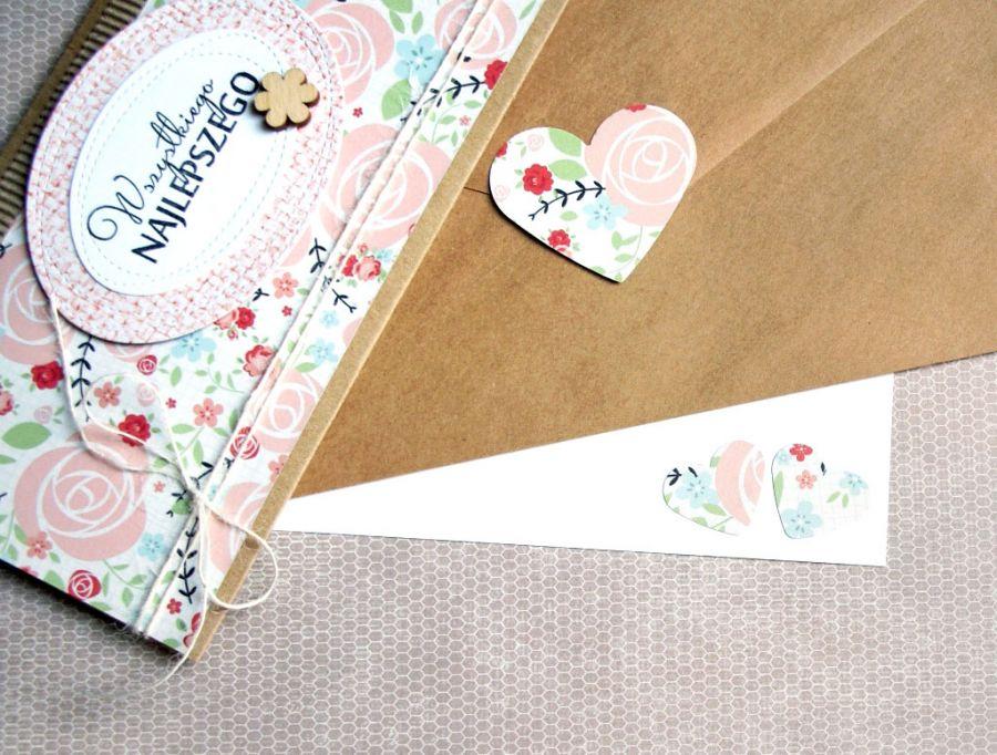 kartka - kopertówka :: floral II
